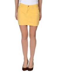 Roy Rogers Roy Roger's Mini Skirts Yellow