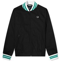 Fred Perry Reissues Made In England Bomber Jacket Black