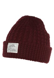 O'neill Hat Tawny Port Red