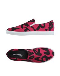 Dsquared2 Footwear Low Tops And Trainers Men Fuchsia