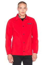 Raised By Wolves Nepean Coaches Jacket Red