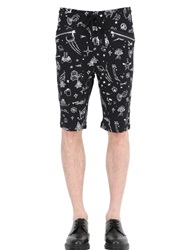 Markus Lupfer Cartoon Universe Cotton Jogging Shorts