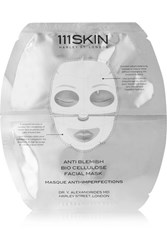 111Skin Anti Blemish Bio Cellulose Facial Mask One Size Colorless