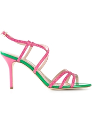 Moschino Cheap And Chic Strappy Sandals
