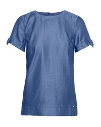 Ted Baker Brutee Bow Tie T Shirt Blue