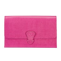 Aspinal Of London Women's Classic Travel Wallet Raspberry
