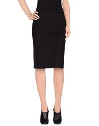 Trussardi Skirts Knee Length Skirts Women Dark Brown