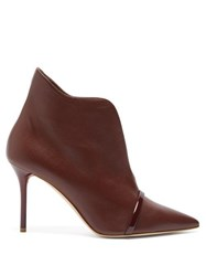 Malone Souliers Cora Leather Ankle Boots Dark Brown