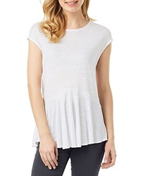 Phase Eight Bernadette Linen Top White