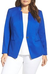 Vince Camuto Plus Size Women's One Button Blazer