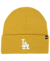 '47 Brand Los Angeles Dodgers Haymaker Knit Hat Wheat