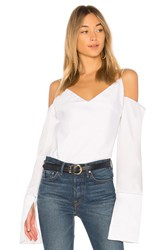 Michael Lo Sordo Suspended Cami With Sleeve White