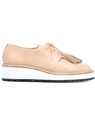 Loeffler Randall 'Callie' Derby Shoes Nude And Neutrals