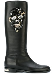 Philipp Plein 'Forced' Boots Black