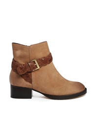 Asos Antwerp Leather Boots Tan