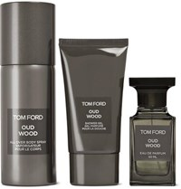 Tom Ford Beauty Private Blend Oud Wood All Over Body Spray Eau De Parfum And Shower Gel Set Colorless