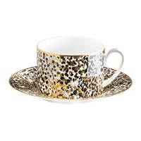 Roberto Cavalli Camouflage Teacup And Saucer