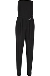 Just Cavalli Belted Jersey Jumpsuit