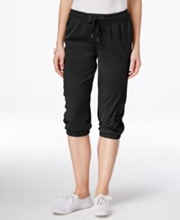 G.H. Bass And Co. Active Cropped Pants Black