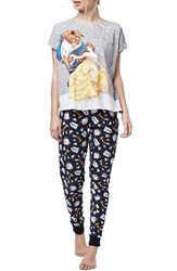 Women's Topshop 'Beauty And The Beast' Pajamas