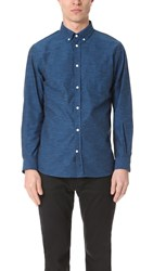 Norse Projects Anton Chambray Shirt Boundary Blue