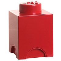 Lego Storage Box 1 Red