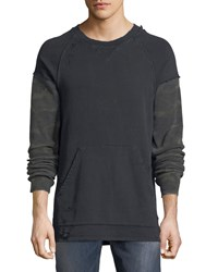 Hudson Striker Camo Sleeve Sweatshirt Kracked