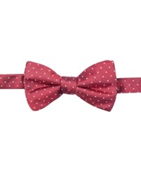 Ryan Seacrest Distinction Men's Fairfax Pindot Pre Tied Bow Tie Only At Macy's
