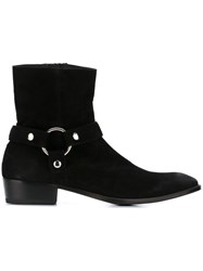 Htc Hollywood Trading Company 'Ring' Boots Black