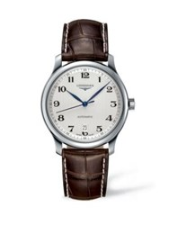 Longines Analog Stainless Steel And Alligator Leather Strap Watch No Color
