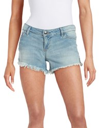 Guess Denim Cutoff Shorts Light Wash