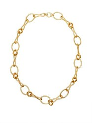 J.W.Anderson Jw Anderson Irregular Chain Necklace Gold
