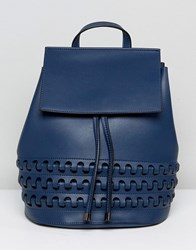 Lavand Backpack With Platt Detailing Blue