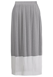 Kiomi Pleated Skirt Grey