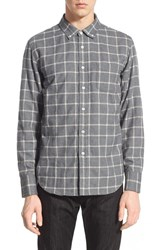 Men's Obey 'Jasper' Slim Fit Check Woven Shirt