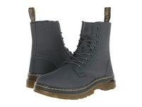 Dr. Martens Combs Fold Down Boot Charcoal Extra Tough Nylon Rubbery Men's Lace Up Boots Brown