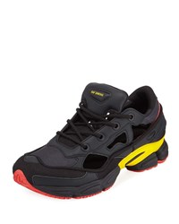 Raf Simons Ozweego Replicant Trainer Sneakers Belgium National Day Black Red
