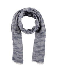 Peuterey Oblong Scarves Dark Blue