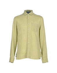 C.P. Company Shirts Light Green