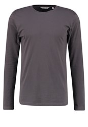 Only And Sons Onspetar Long Sleeved Top Grey Pinstripe Dark Grey