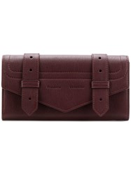 Proenza Schouler Ps1 Continental Wallet Red