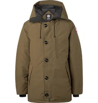 Canada Goose Chateau Shell Hooded Down Parka Green