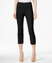 Style And Co Petite Pull On Capri Pants Only At Macy's Deep Black