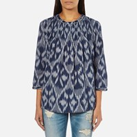Maison Scotch Women's Pleated Top Multi