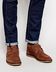 Fred Perry Claxton Desert Boots Brown
