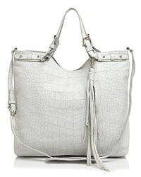 Etienne Aigner Charlotte Embossed Convertible Tote