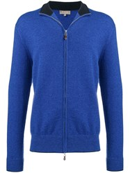 N.Peal Zipped Sweatshirt Blue