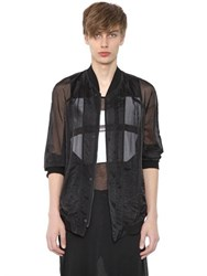 Julius Sheer Organza Bomber Jacket