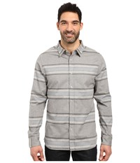 The North Face Long Sleeve Approach Flannel Tnf Light Grey Heather Men's Clothing Gray