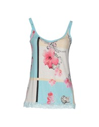 Vdp Collection Topwear Tops Women Sky Blue
